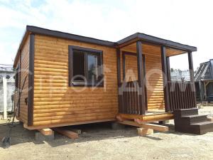 """""""АВАНГАРД""""-это серия дачных домиков по низкой цене. Строительство на участке недорого в Клину."""