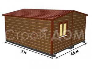 """Бытовки и садовые домики """"АВАНГАРД"""" с отделкой и утеплением недорого. Заказать строителей в Клину."""