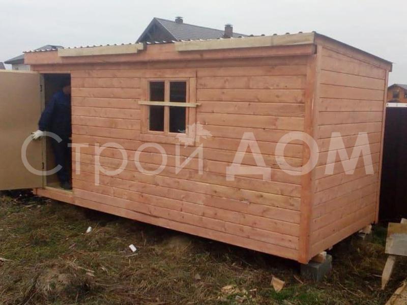 Бытовка для дачи 5 метров. производство бытовок в Клину, Солнечногорске, Конаково.