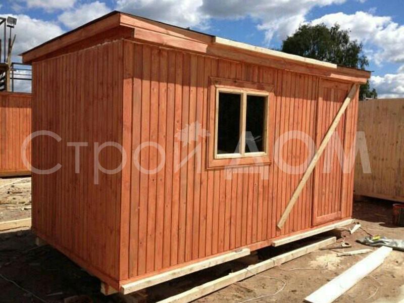 5 метров дачная бытовка недорого. Строительство бытовок и хозблоков в Московской области.