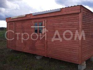 Дачная бытовка 6 метров от производителя в Клину. Доставка Московская область.