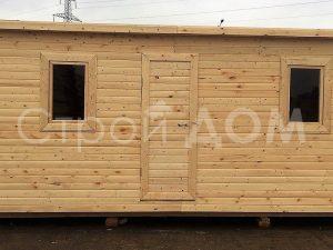 Бытовка 7 метров длиной распашного плана в Московской области недорого. Купить с доставкой.