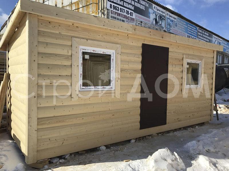 Дачные бытовки в наличии и на заказ от производителя в Московской области недорого.