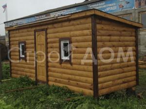 Бытовка блок-хаус утеплённая от производителя в Клину недорого.