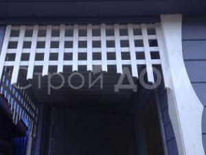 Декорация для бытовок на даче в Клину от производителя.