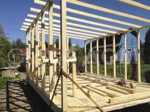 Строим домики на заказ в Клину, Солнечногорске и Конаково быстро и недорого.
