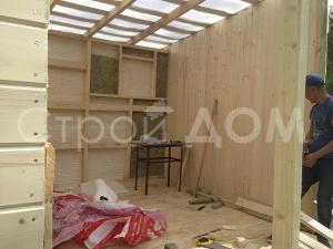 Бытовки и дачные домики. Строительство на участках в Клинском районе недорого.