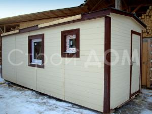 """Бытовка с качественной отделкой """"ЛАБИРИНТ"""" недорого. Строительство на участке в Клину, Конаково, Солнечногорске."""