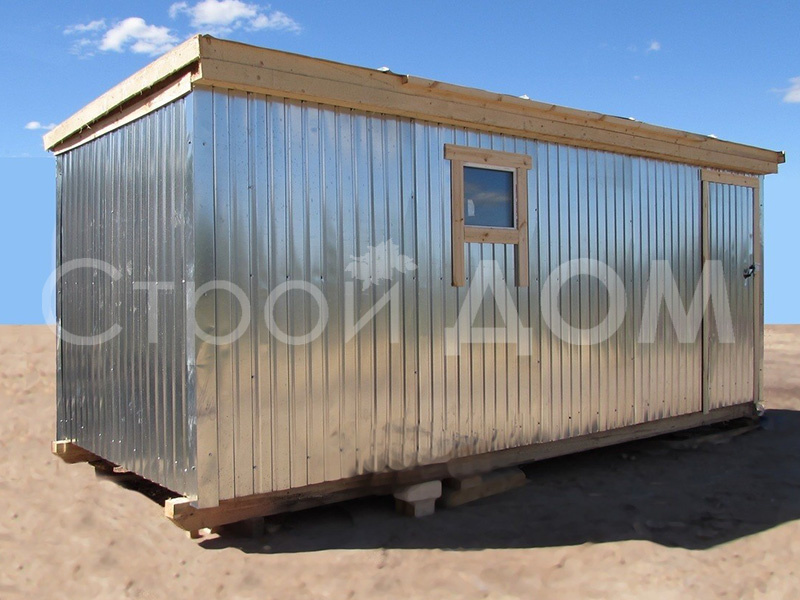 Бытовка металлическая 6 метров недорого. Купить в Клину, Солнечногорск, Конаково.