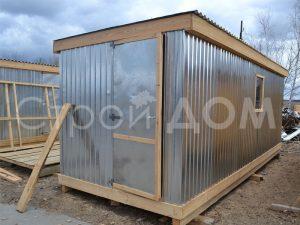 Бытовка металлическая от производителя в Клину, Солнечногорске, Конаково.