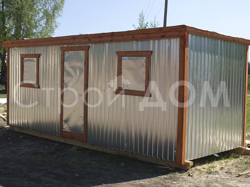Металлическая бытовка распашонка 6 метров длиной в Клину по низкой цене.