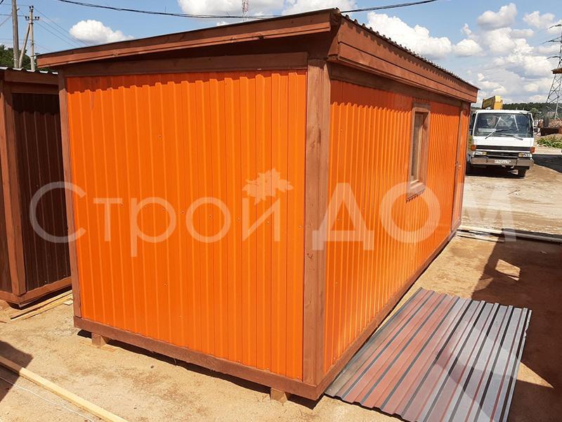Железная бытовка 6 метров из металла по низкой цене. Производитель в Московской области.