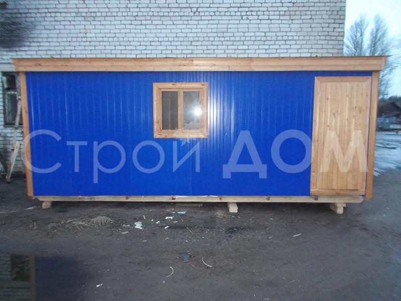 Бытовка дачная железная 6 метров длиной от производителя в Московской области недорого. Купить с доставкой.