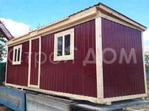 Бытовка 6 метров распашная металлическая по низкой цене в Московской области.