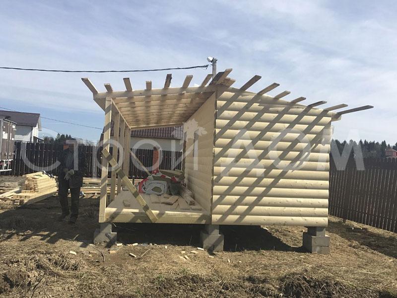 """""""МИРАЖ""""-дачная бытовка-домик длиной 6 метров. Собственное производство бытовок в Клину."""