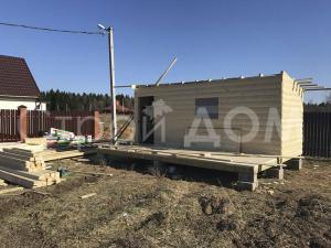 Дачный домик от производителя бытовок в Клину. Строительство профессионально и недорого.