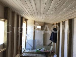 """Бытовка-домик для дачников """"МИРАЖ"""" по низкой цене. Строительство на участке в Клину."""