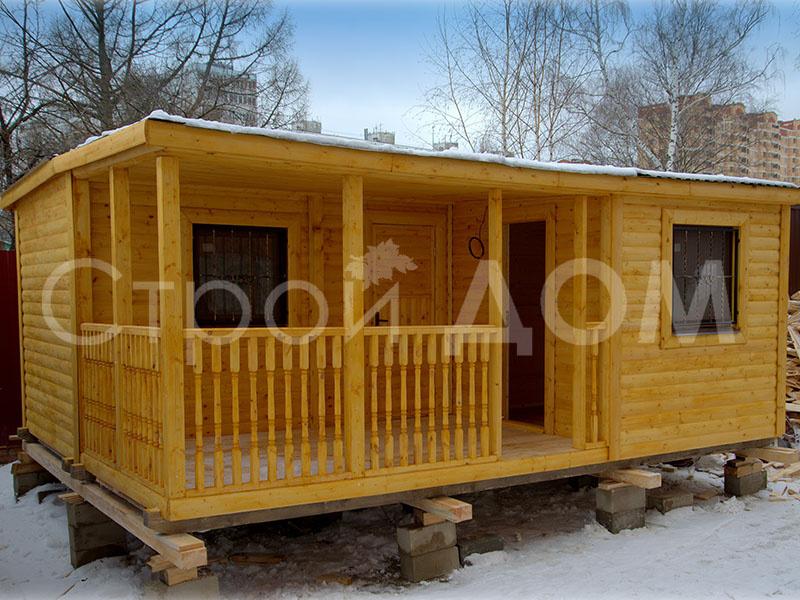 """""""ПРОТЕКТ""""-каркасный садовый утеплённый домик для дачи недорого. Купить и заказать доставку."""