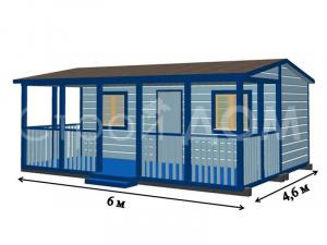 """""""ФАКТУРА""""-это серия садовых домиков от строительной компании в Клину."""