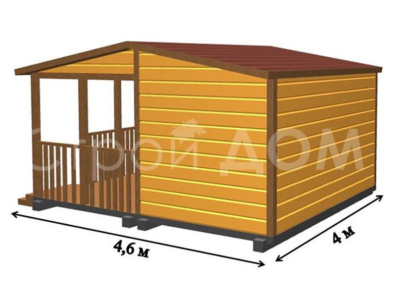 """Домики для сада и огорода """"ФИДЖИ"""" с утеплением и качественной отделкой на Вашем участке в Подмосковье."""