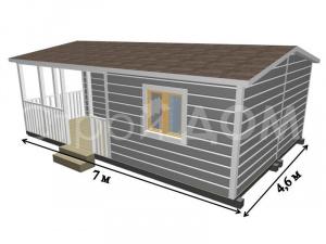 Проектировка садовых домиков от производителя. Бригада строителей в Клину.