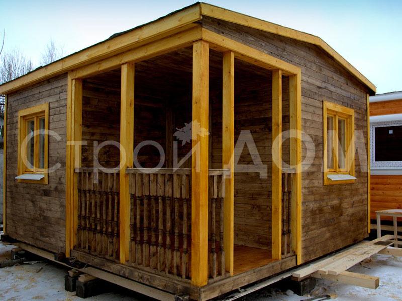 """Дачный домик садовый """"КЕНТУКИ"""" с утеплением в Клину. Доставка манипулятором недорого."""