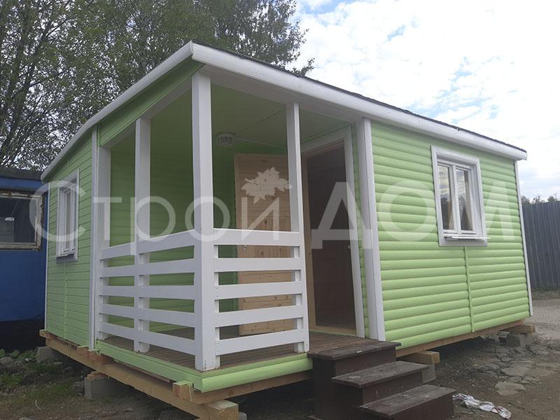 """""""КЕНТУКИ""""-5 метров для дачи садовый домик недорого. Строители на заказ."""