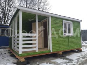 """Купить садовый домик """"КЕНТУКИ"""" со сборкой на месте по низкой цене в Клину, Солнечногорске, Конаково."""
