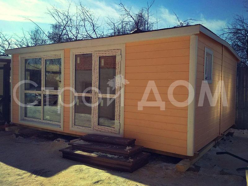"""Садовый домик """"ОЛИВИЯ"""" дачный тёплый от производителя бытовок в Московской области по низкой цене."""