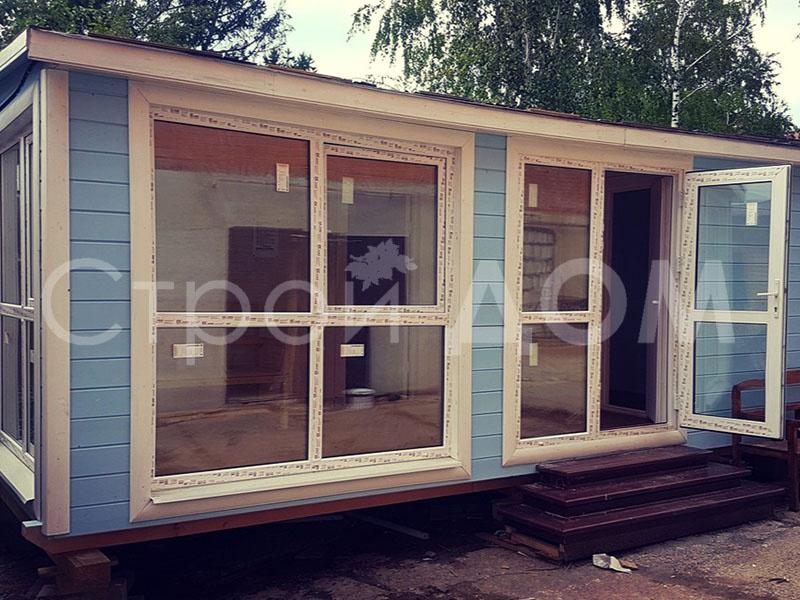 """""""ОЛИВИЯ""""-домик для дачников садовый утеплённый недорого. Купить в Клину."""