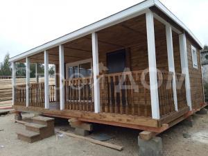 """""""РЭНДИ""""-садовый домик на даче в Подмосковье по низкой цене от производителя в Клину."""