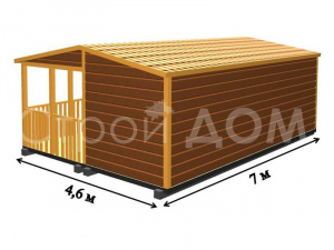 """Схема-план домиков для дачи """"РЭНДИ"""" от производителя. Строительная Компания в Клину, Конаково, Солнечногорске."""