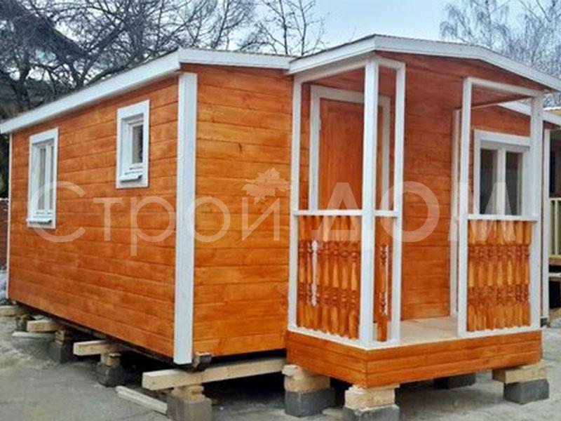 """""""СИМВОЛ""""-домик для дачи садовый от производителя. Бытовки в Клину в наличии и на заказ."""