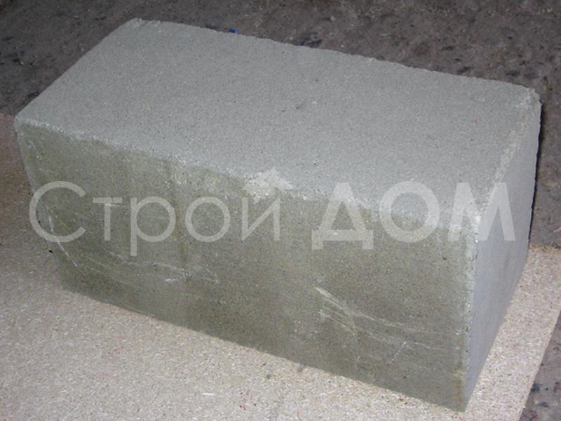 Пескобетонный фундаментный блок для дачной бытовки в Клину. Фундамент из блоков недорого.