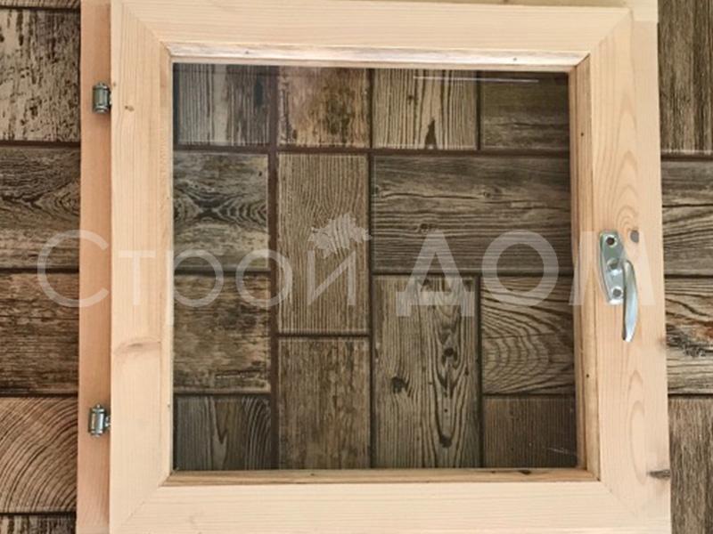 Дополнение к бытовке-деревянное окно на заказ. Собственное производство бытовок.