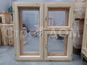 Деревянные окна для бытовок в качестве дополнения. Собственное строительство в Клину.