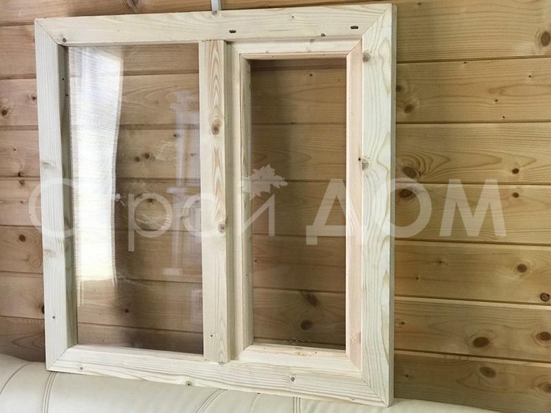 Окно деревянное дополнительно в бытовку. Дополнения к бытовкам недорого в Клину.