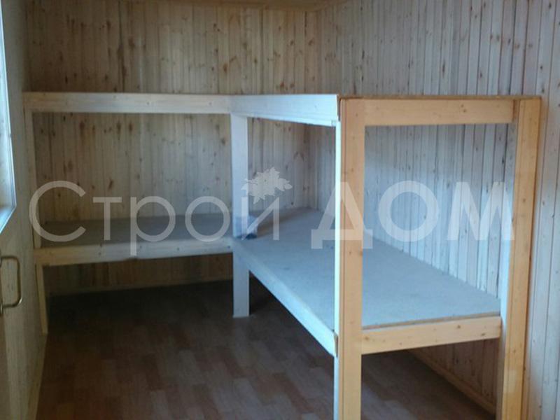 Кровати в бытовках дополнительно. Строительство бытовок недорого в Клину.
