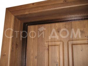 Стальная входная дверь в бытовку. Клин Бытовка от производителя.