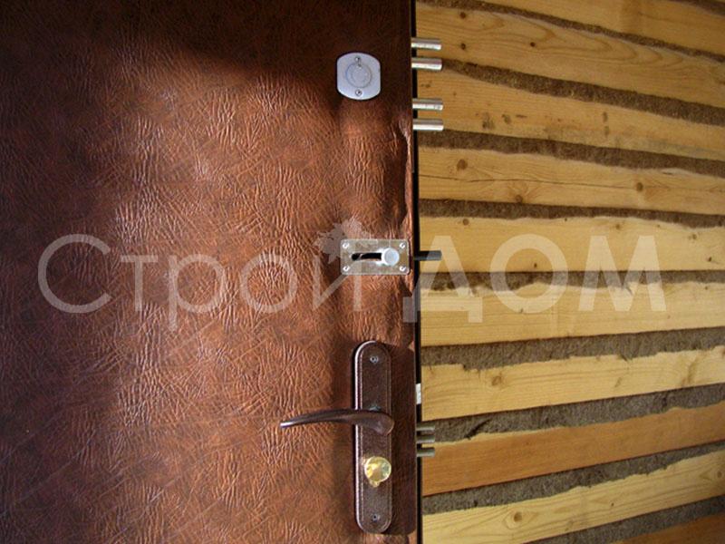 Железная входная дверь в бытовку от производителя в Клину.