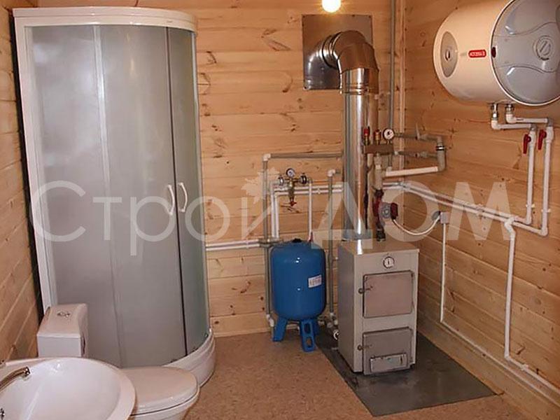 Подача воды в бытовку. Водопровод на даче.