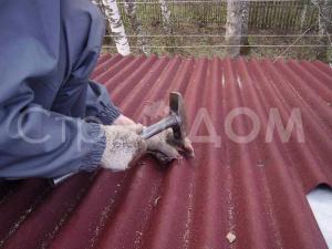 Крыша бытовки и ондулин от производителя в Московской области.