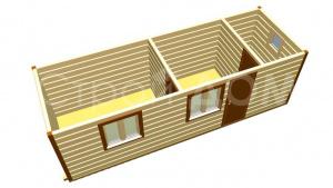 Бытовки для дачи в Московской области на заказ. Каркасное строительство в Клину.