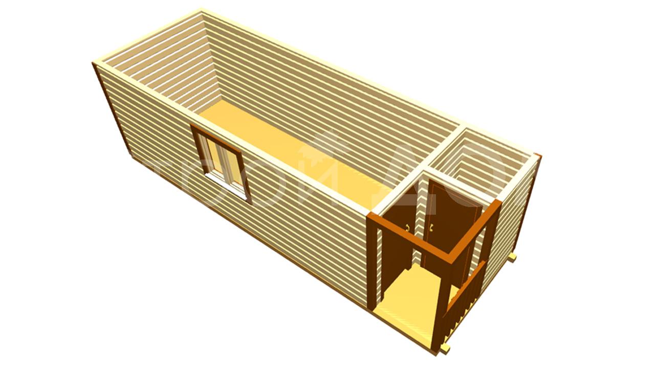 Строительство бытовок на заказ в клинском районе.