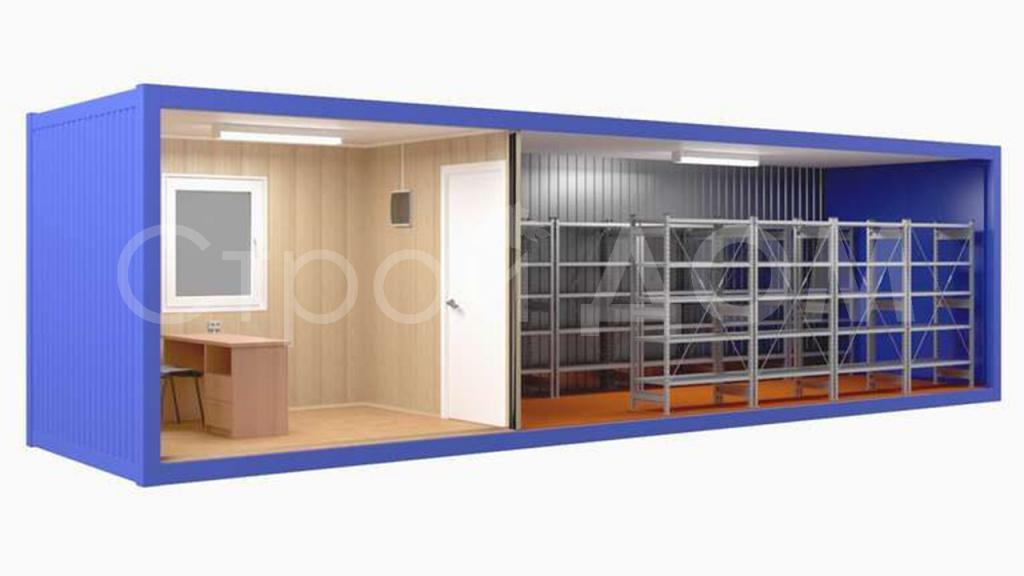 Блок-контейнер в наличии и на заказ от производителя. купить в Московской области недорого.