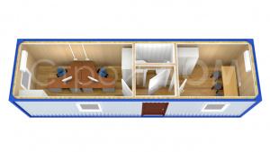 Изготовление железных бытовок и блок-контейнеров по низким ценам в Клину.
