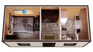 Производство железных бытовок и блок-контейнеров в Клину. Гарантия и доставка.