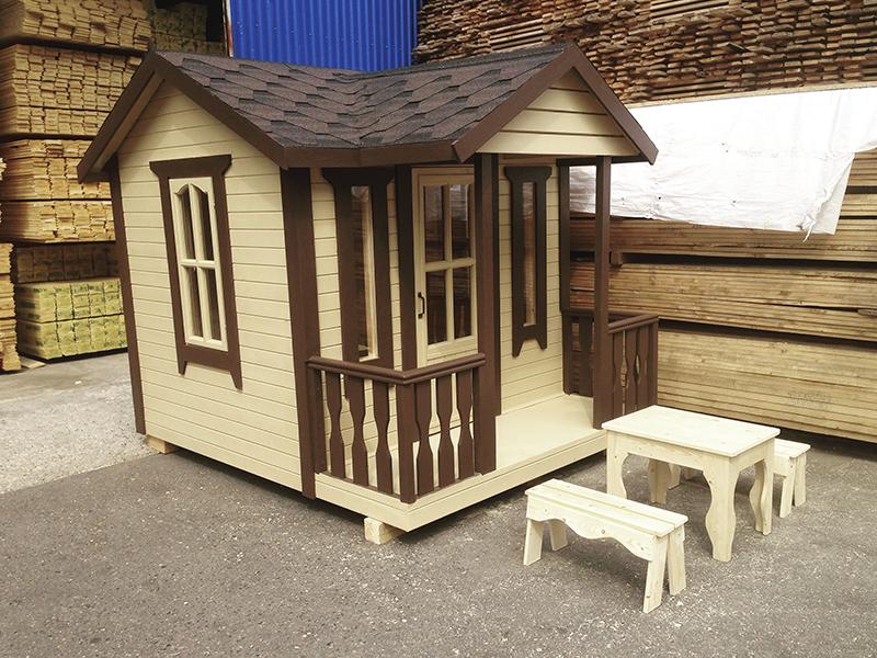 Детский домик от производителя. Строим в Клину, Солнечногорске, Конаково недорого.