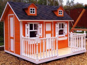 Детский коттедж от производителя. Строительство детских домиков по взрослым технологиям в Клину.