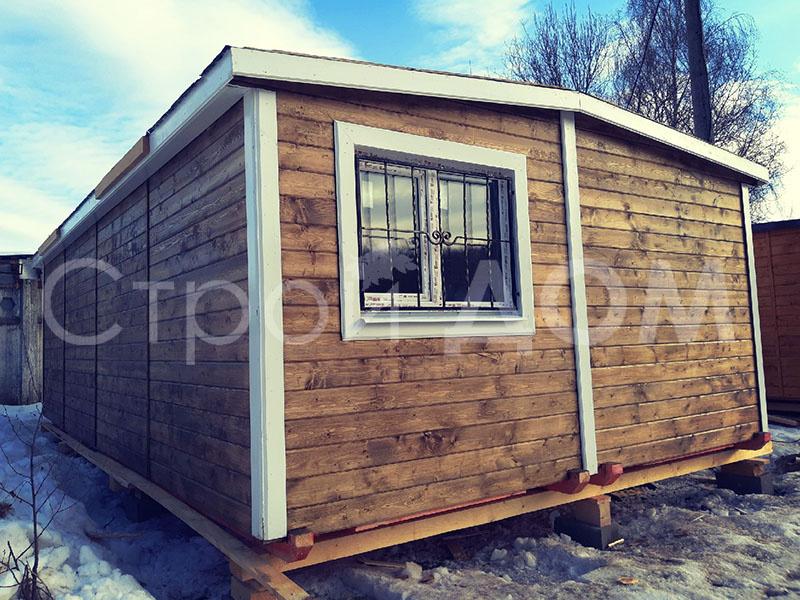 """Садовый тёплый домик """"ГРАНДХАУС"""" в Клину недорого. Строительство на заказ."""